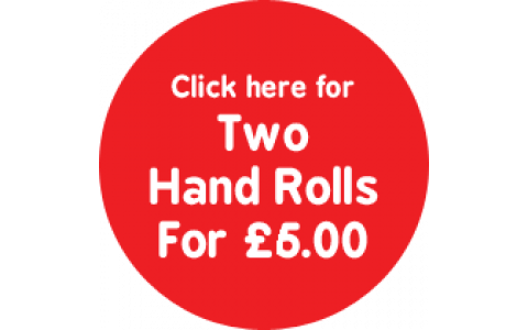 2 Hand Rolls for £6.00